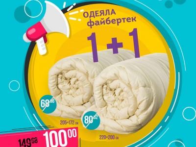 Акция: 2 одеяла по выгодной цене