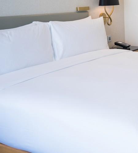 Комплект постельного белья ТЕНСЕЛ (белый)